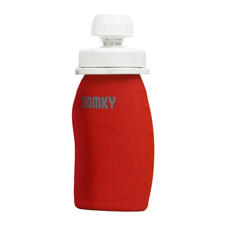 DOMKY Silikonová kapsička červená 180 ml