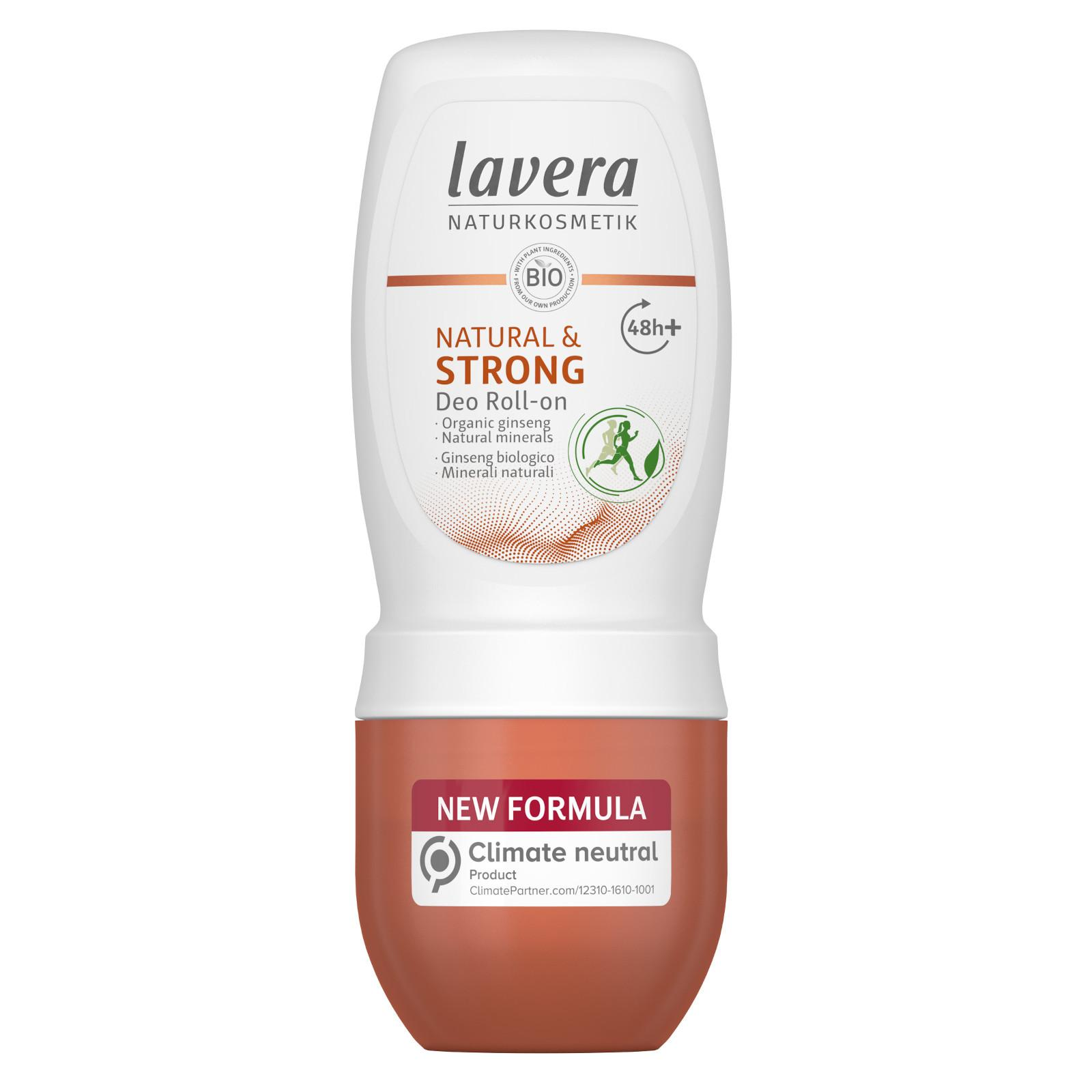 Lavera Deodorant roll-on Strong pro ochranu až 48 hodin 50 ml