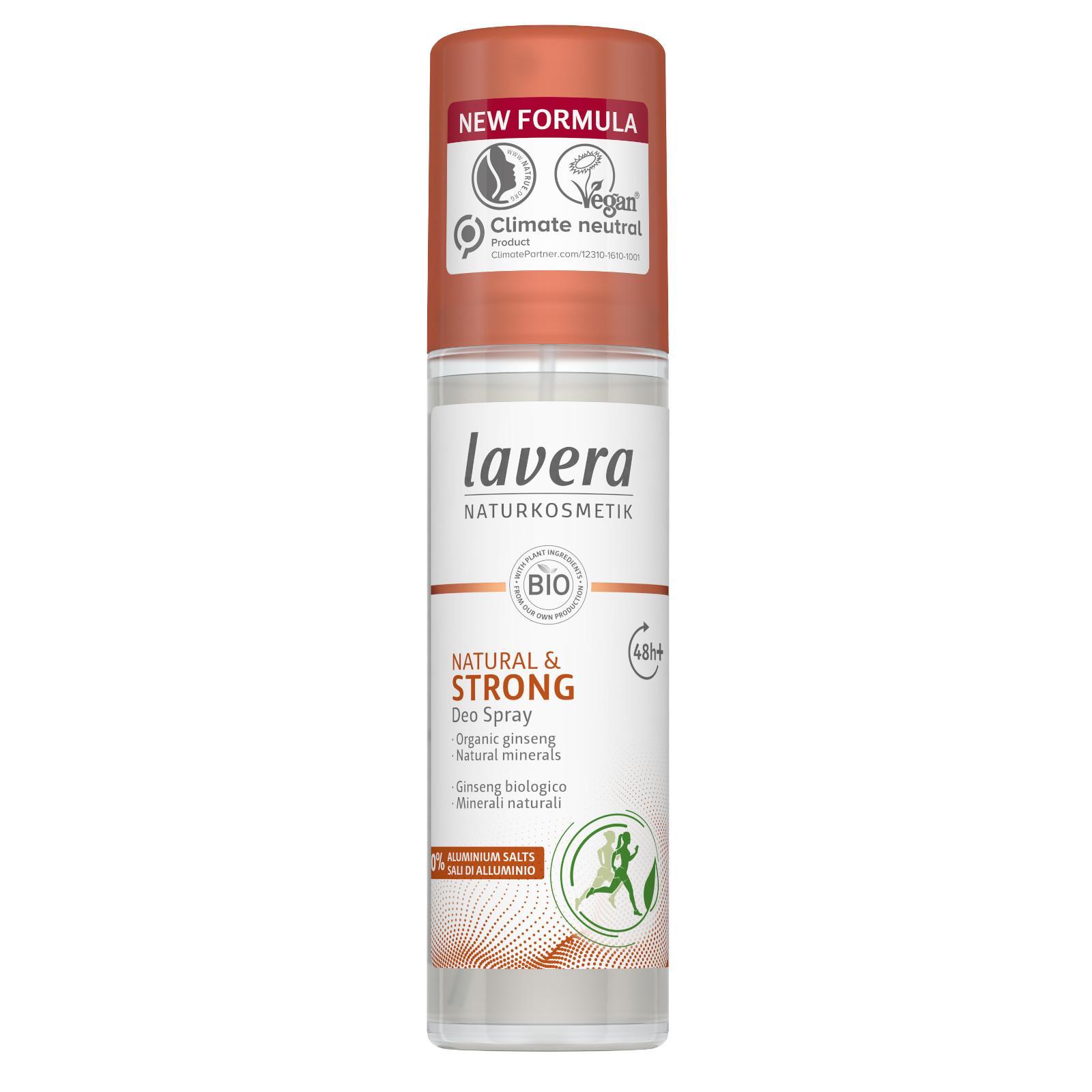 Lavera Deodorant sprej Strong pro ochranu až 48 hodin 75 ml