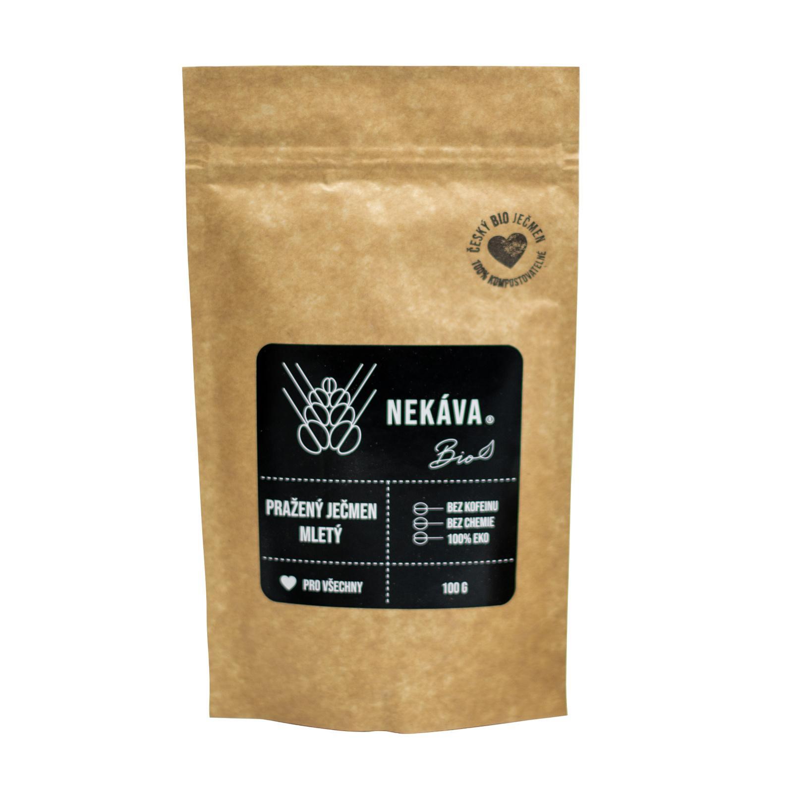 Nekáva Original bio pražený ječmen bez kofeinu 100 g