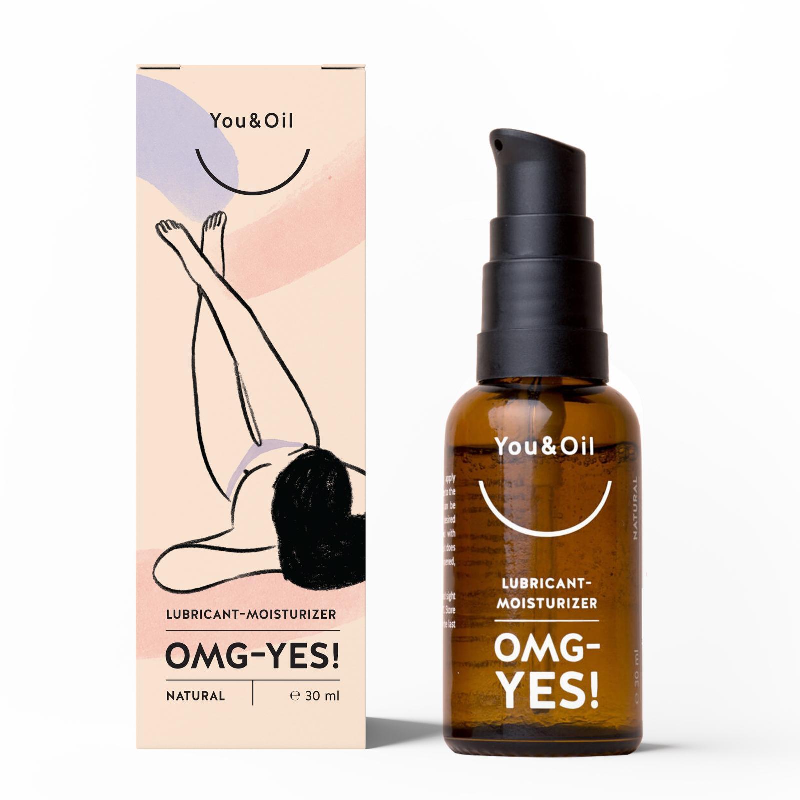You&Oil Lubrikační gel OMG Yes! 30 ml