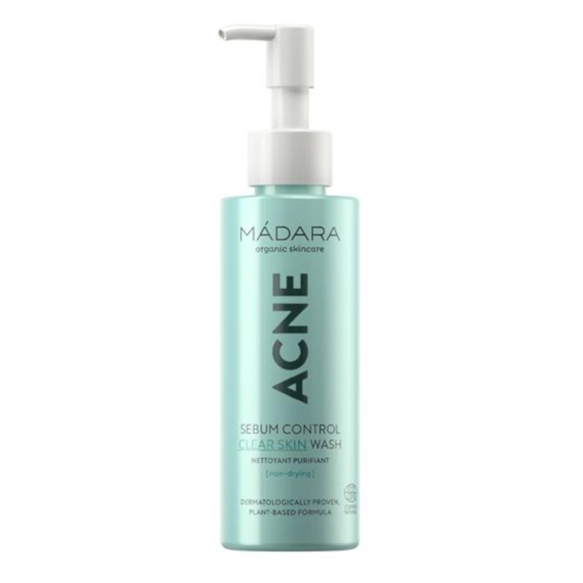 MÁDARA ACNE Sebum Control Clear Skin Wash 140 ml