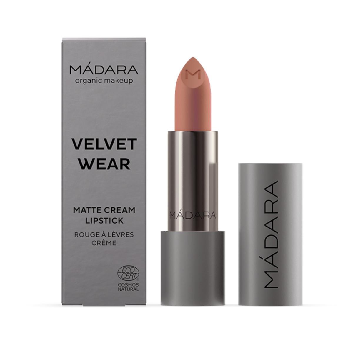 MÁDARA Velvet wear matná rtěnka, odstín 34 whisper 3,8 g