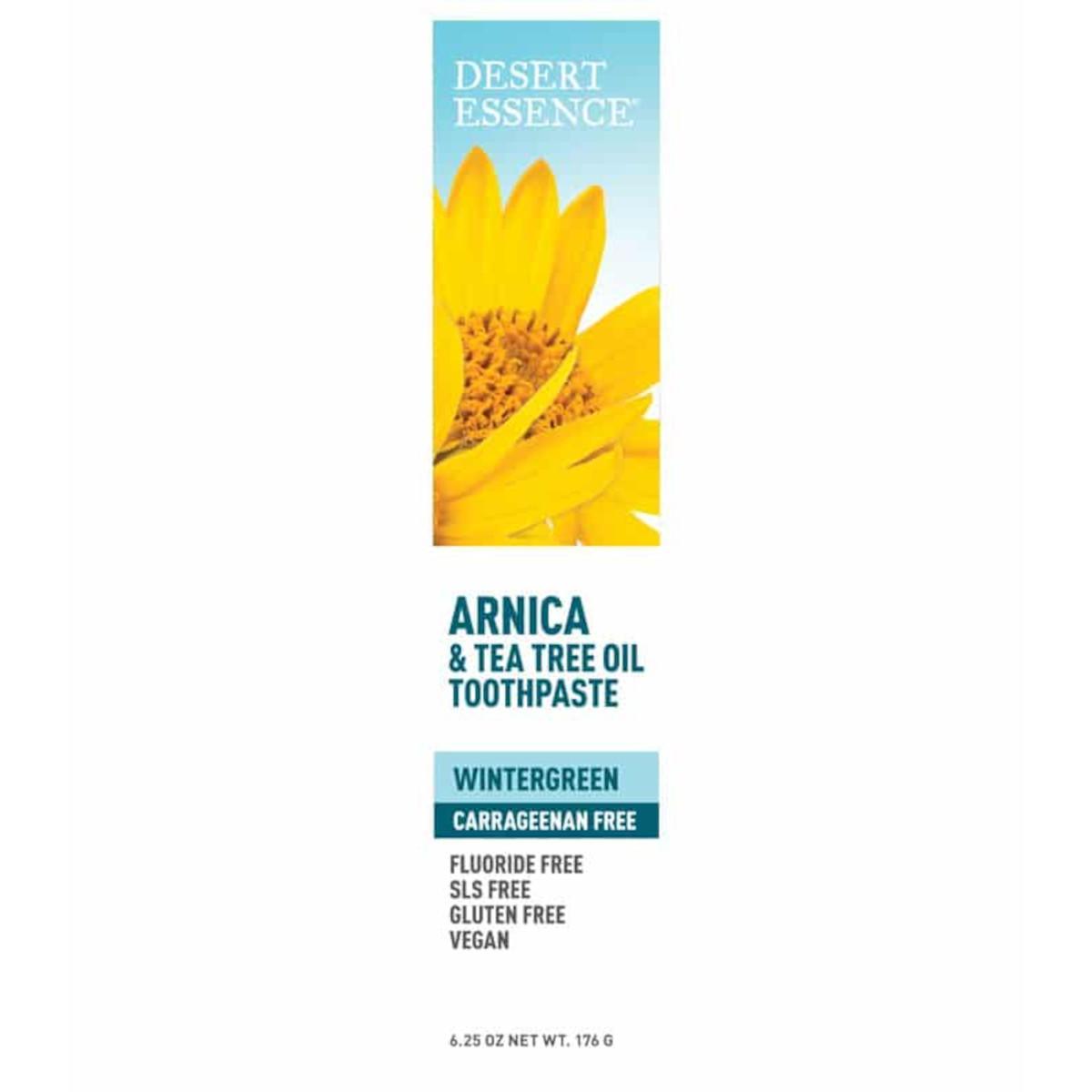 Desert Essence Zubní pasta arnika a tea tree 176 g
