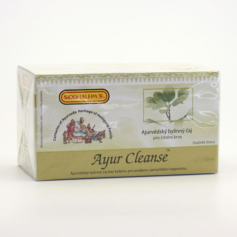 Siddhalepa Ayur Cleanse, čaj pro čištění krve 40 g, 20 ks