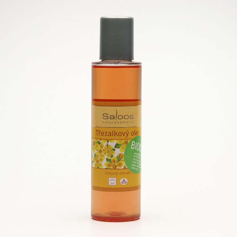 Saloos Olejový extrakt třezalkový, bio 125 ml