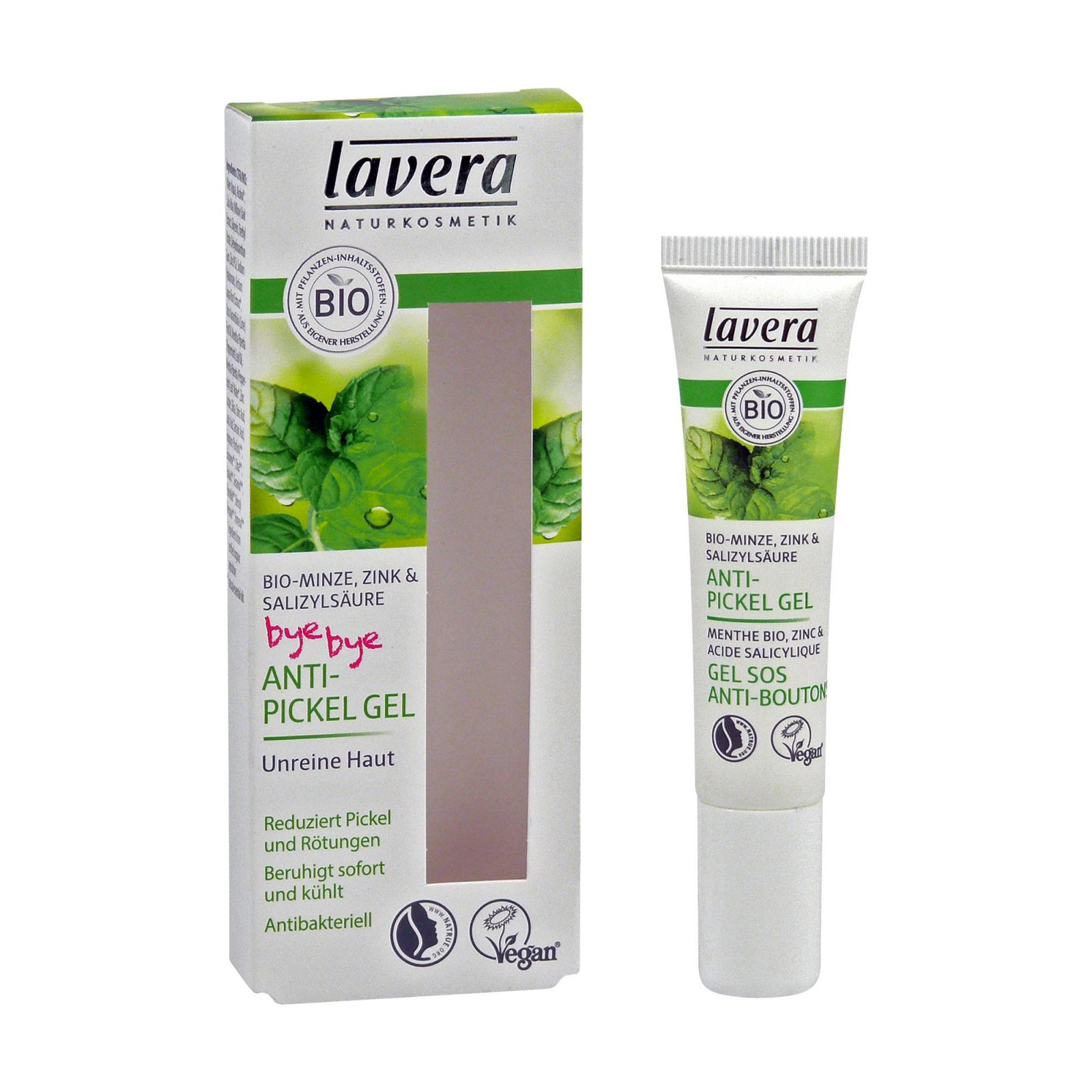 Lavera SOS gel na akné Bio Máta, Faces 15 ml
