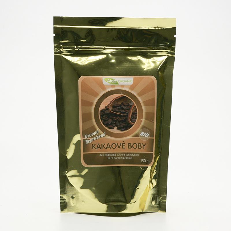Aida Organic Kakaové boby bio nepražené 150 g