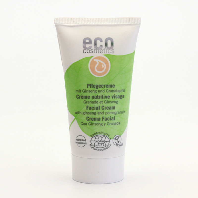 Eco Cosmetics Krém pleťový ženšen/granátové jablko 50 ml