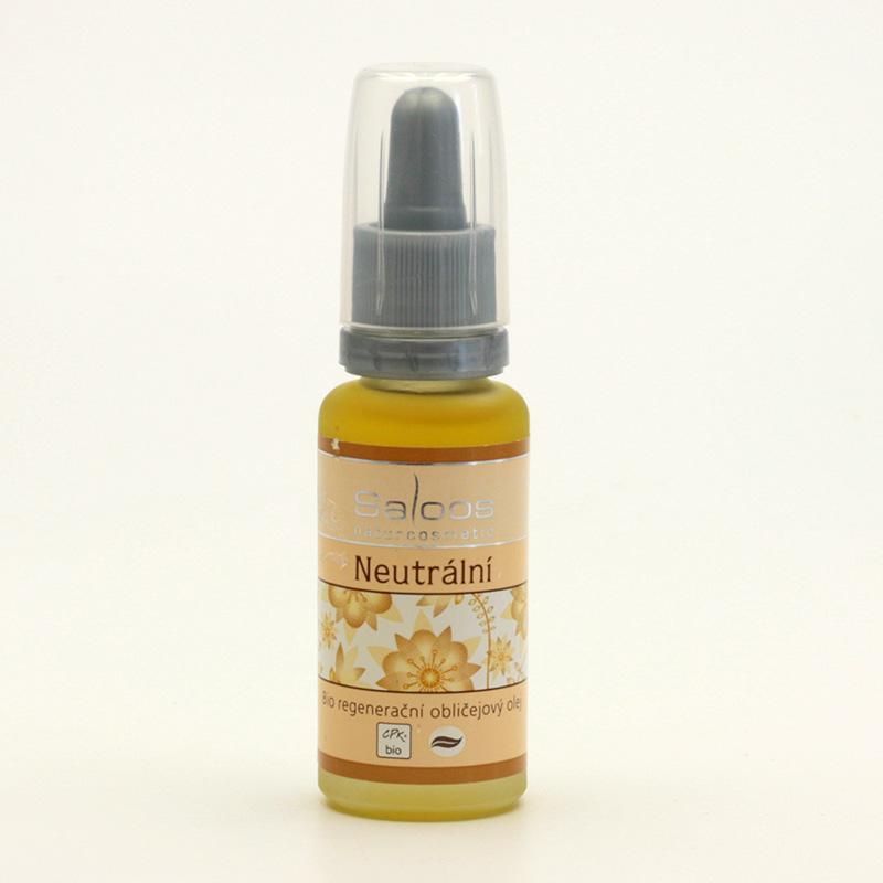 Saloos Regenerační obličejový olej neutrální 20 ml