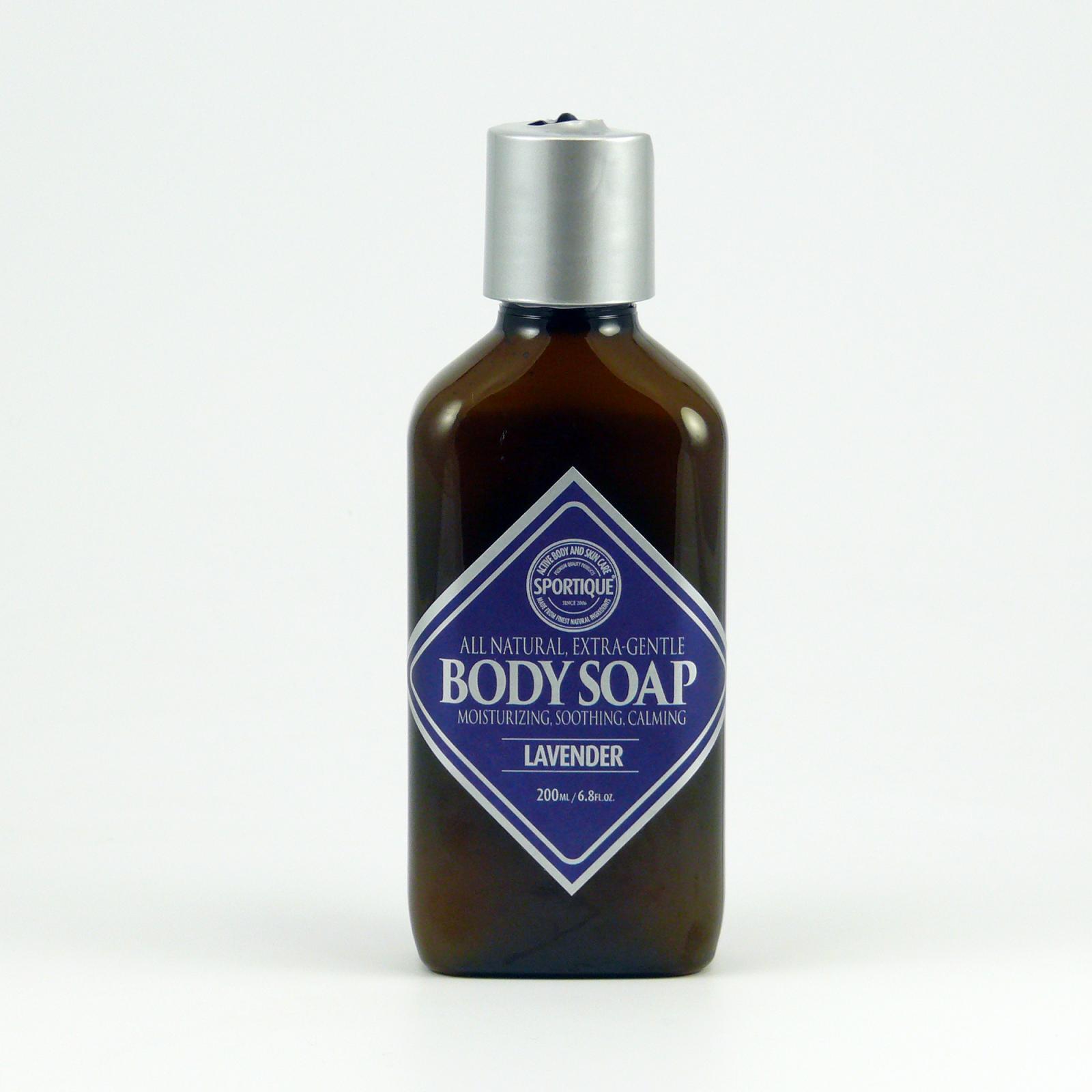 Sportique Tělové mýdlo Levandule 200 ml