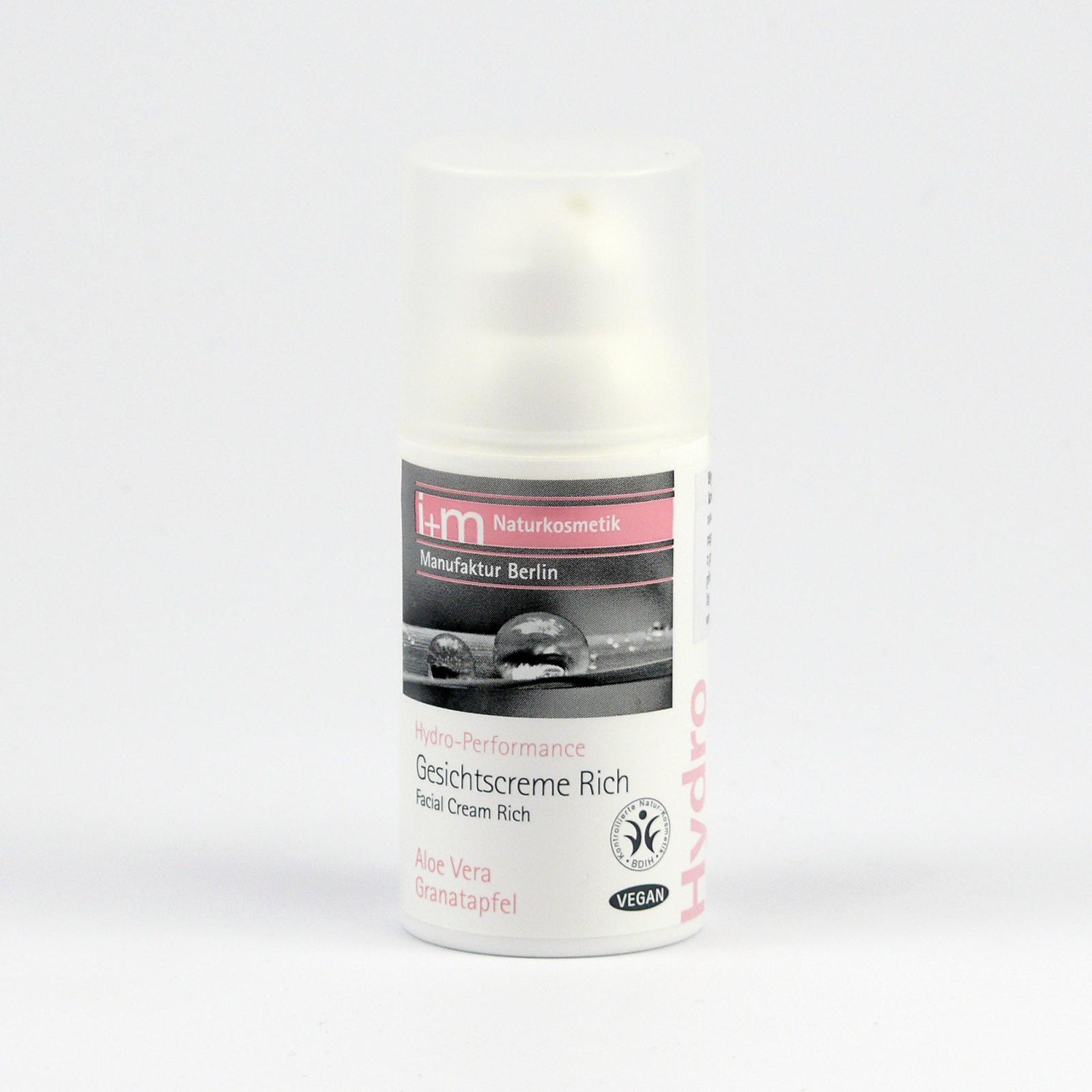 I+M Naturkosmetik Pleťový krém vydatný Hydro-Performance 30 ml