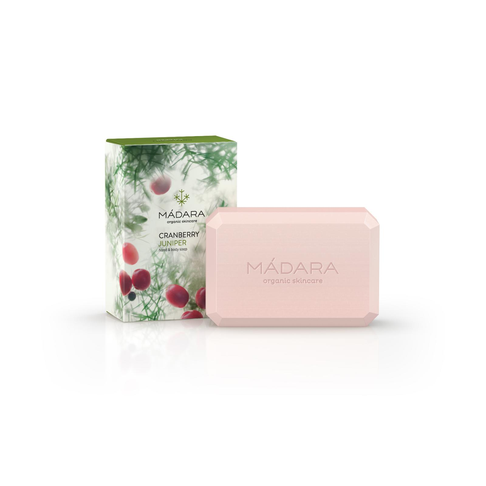 Mádara Tělové mýdlo Cranberry & Juniper 150 g