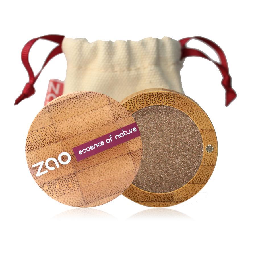 ZAO Třpytivé oční stíny 117 Pinky Bronze 3 g bambusový obal