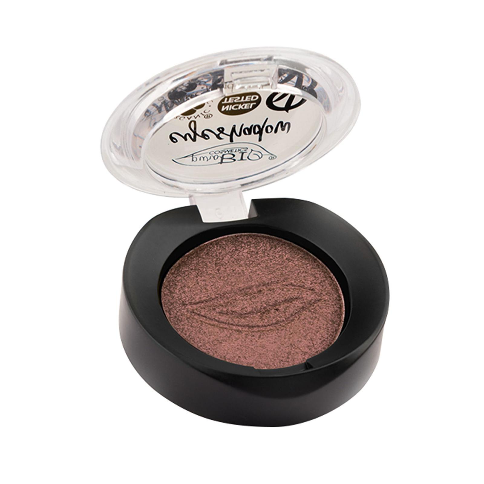 puroBIO cosmetics Minerální oční stíny 15 Rose Dove-Grey 2,5 g