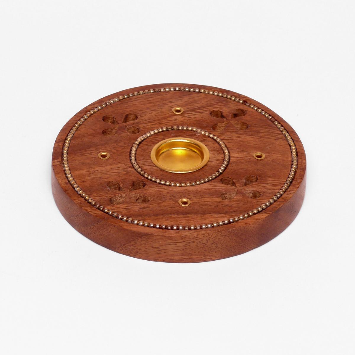 ostatní Talířek dřevěný na tyčinky a jehlánky, kelt 1 ks
