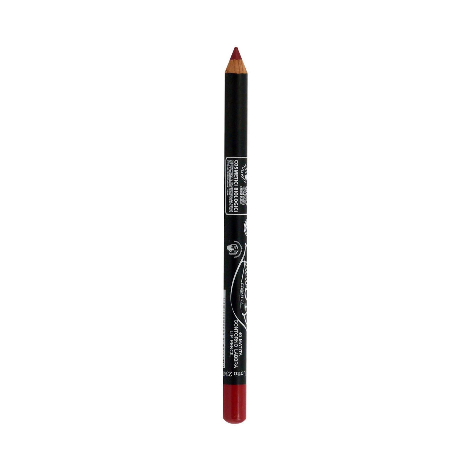 puroBIO cosmetics Konturovací tužka na rty 40 Crimson Red 1,3 g