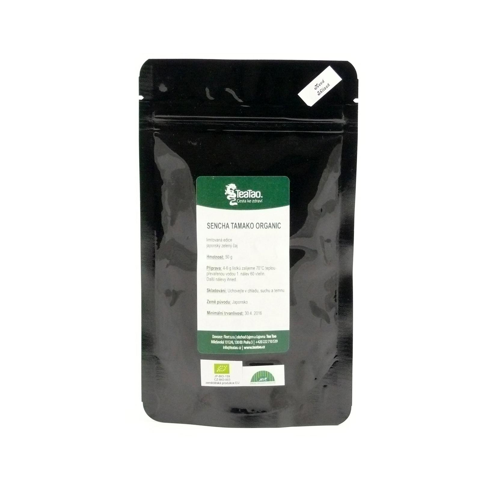TeaTao Zelený čaj Sencha Tamako Organic 50 g