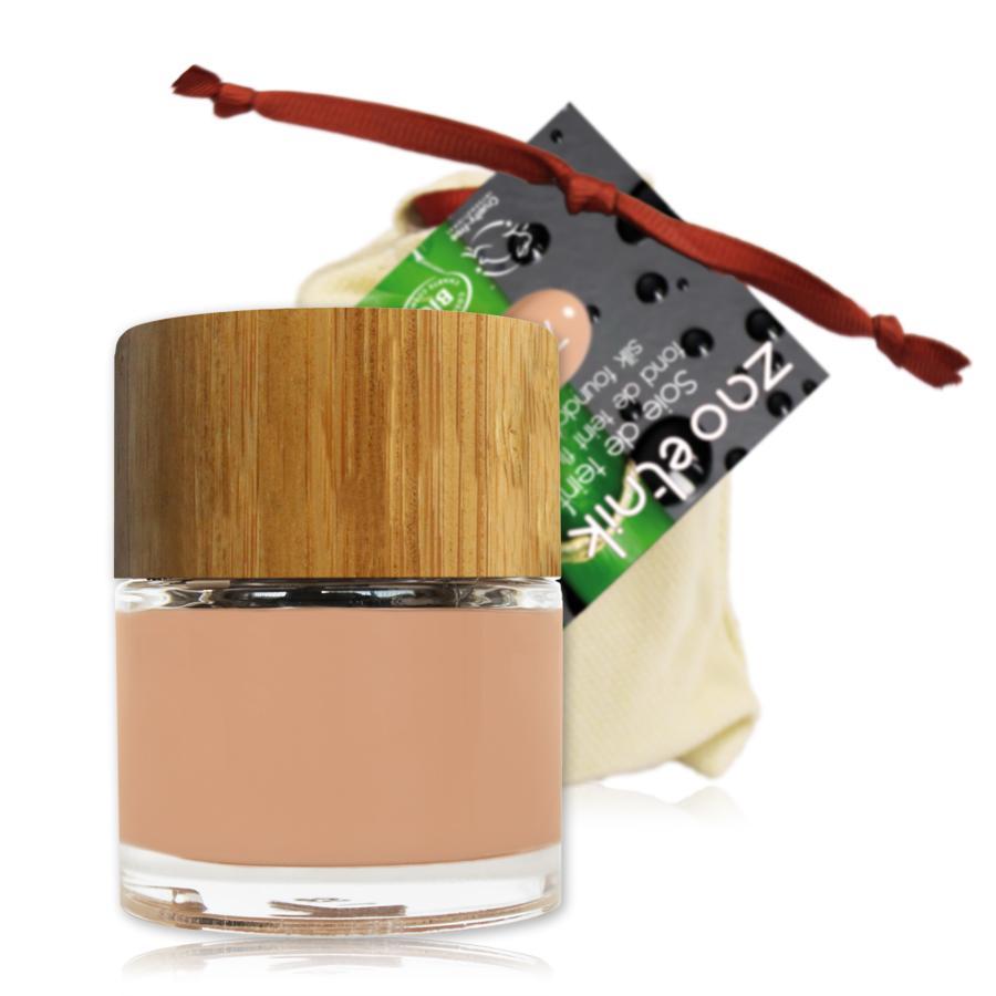 ZAO Hedvábný tekutý make-up 712 Pinky Light 30 ml bambusový obal