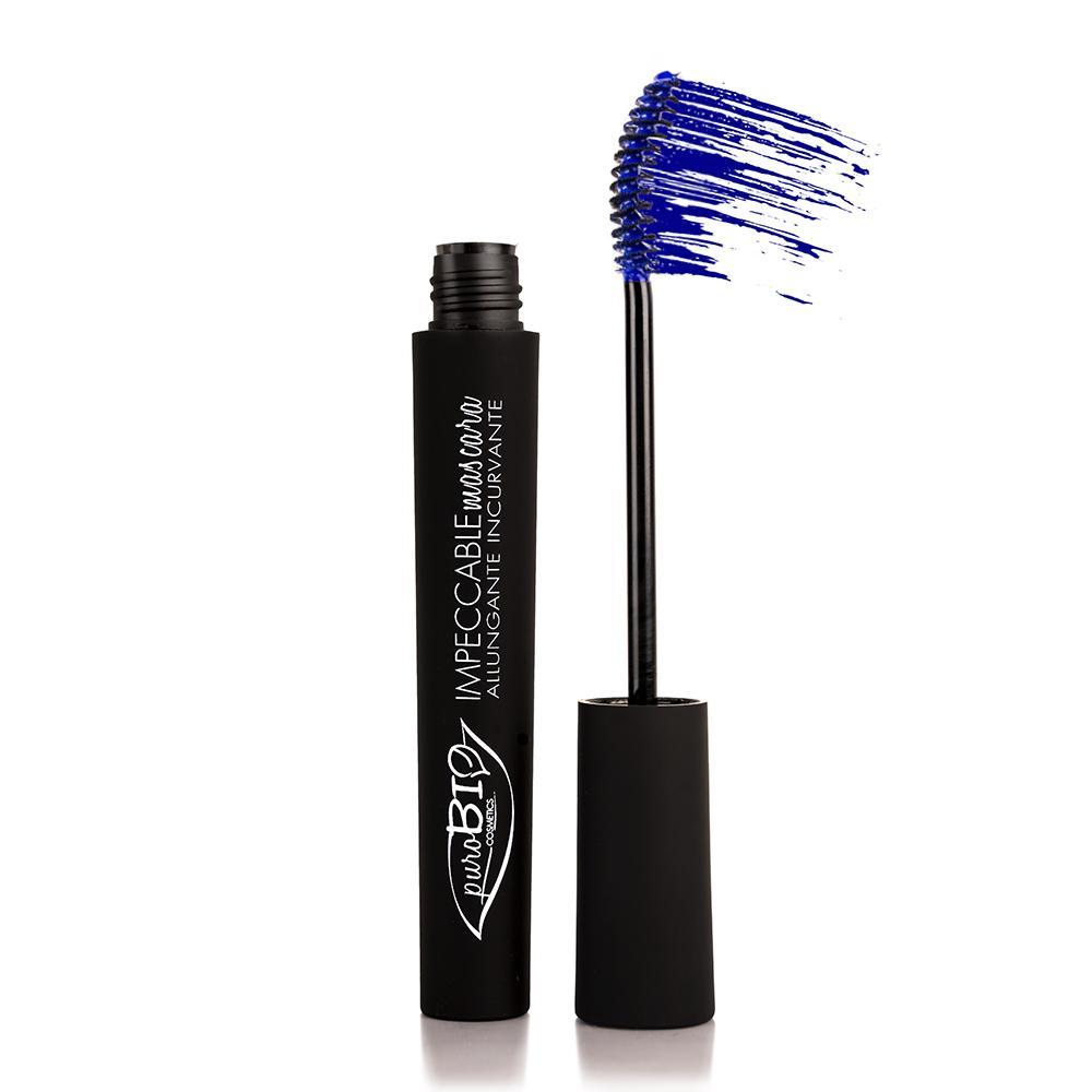 puroBIO cosmetics Řasenka prodlužující 02 Blue 6 ml