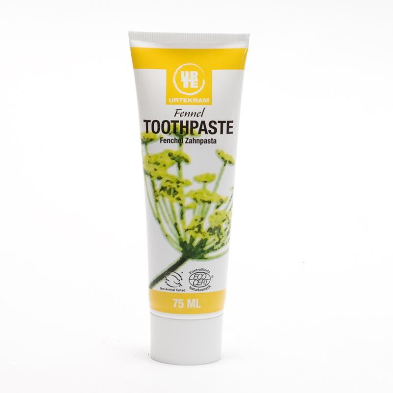 Urtekram Zubní pasta s fenyklem 75 ml