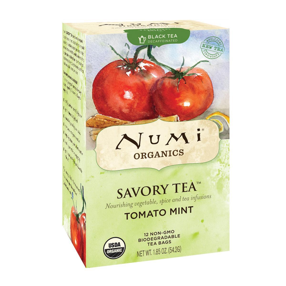 Numi Kořeněný čaj Tomato Mint, Savory Tea 12 ks, 52,4 g