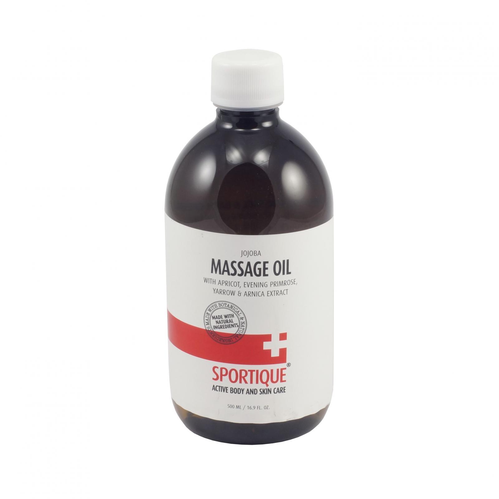 Sportique Masážní olej Meruňka 500 ml