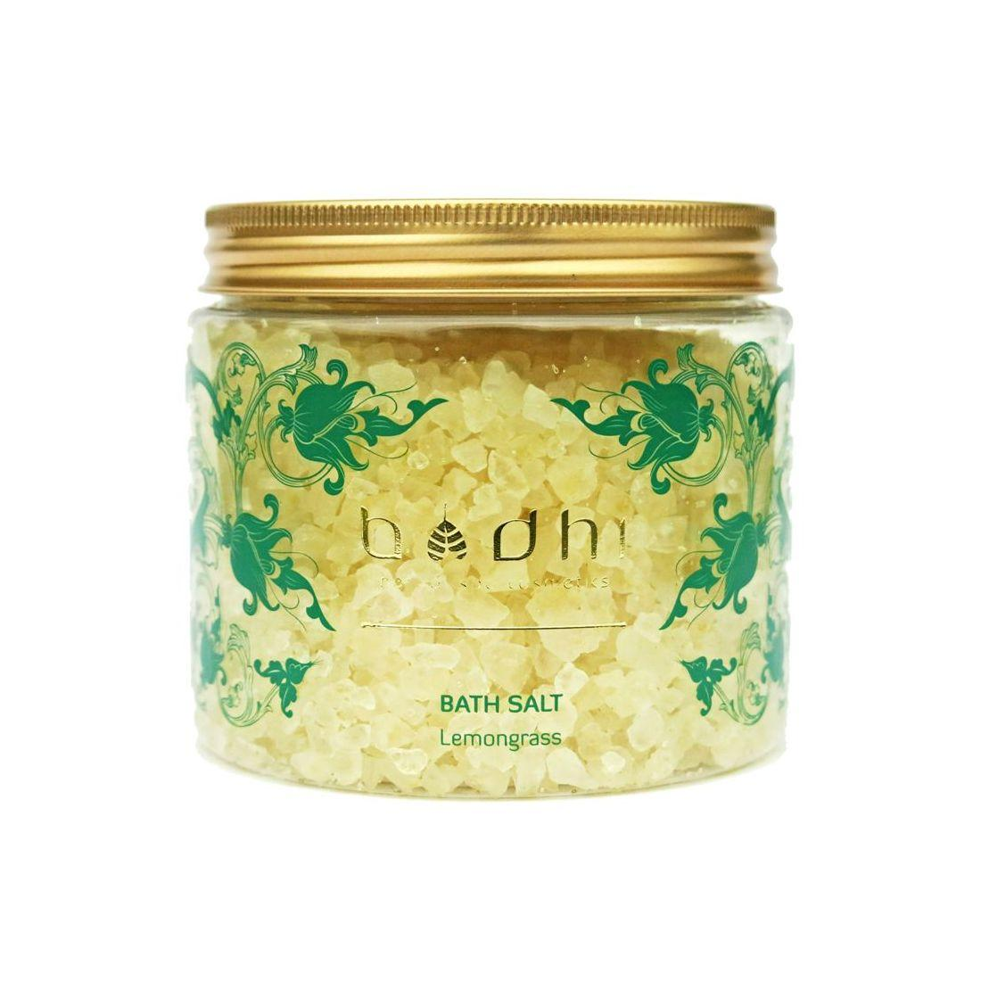 BodhiSpa Sůl do koupele Lemongrass 500 g