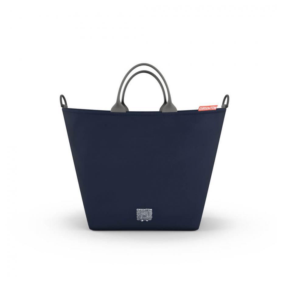 GreenTom Nákupní taška 1 ks, modrá