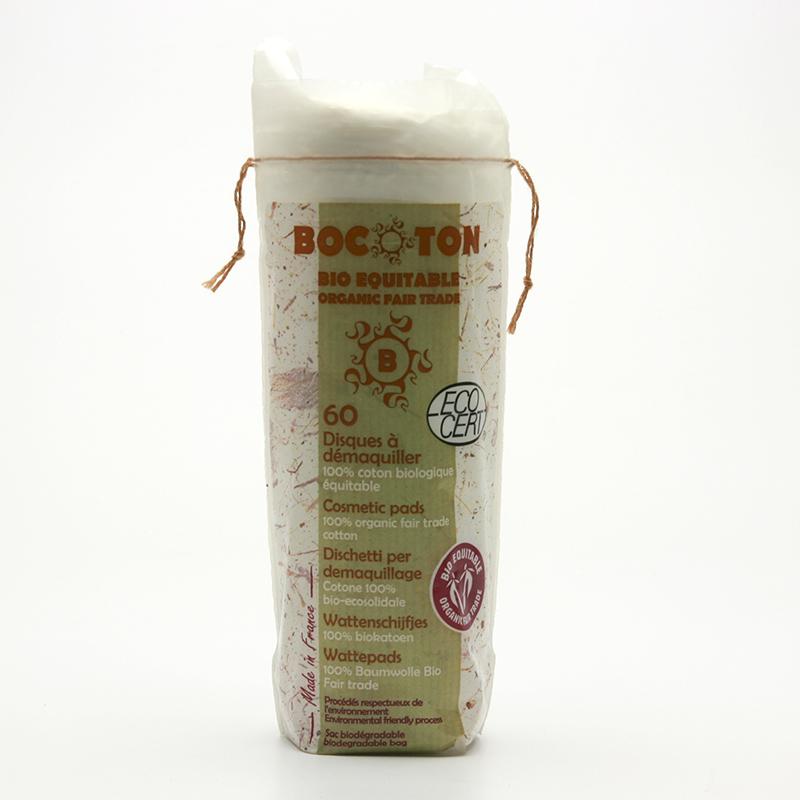 Bocoton Tampony kosmetické odličovací 60 ks