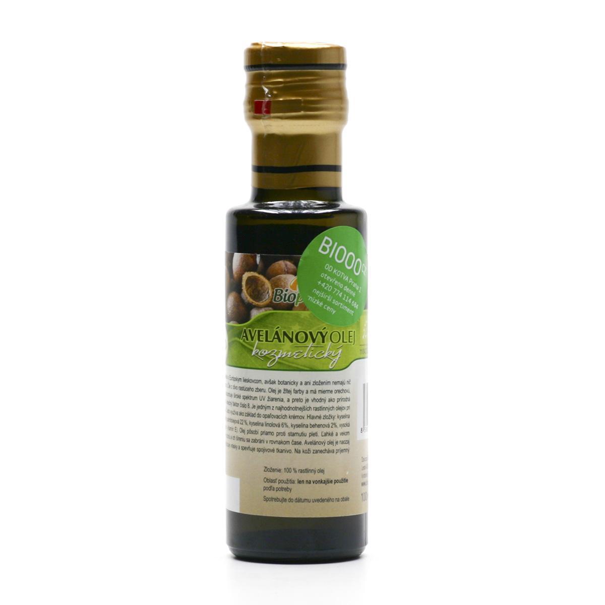 Biopurus Avelánový olej bio, dávkovač 100 ml