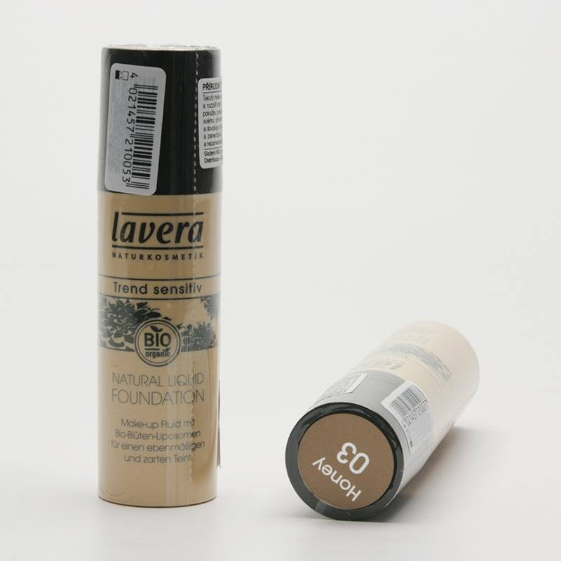 Lavera Make-up tekutý 03 med, Trend Sensitiv 30 ml