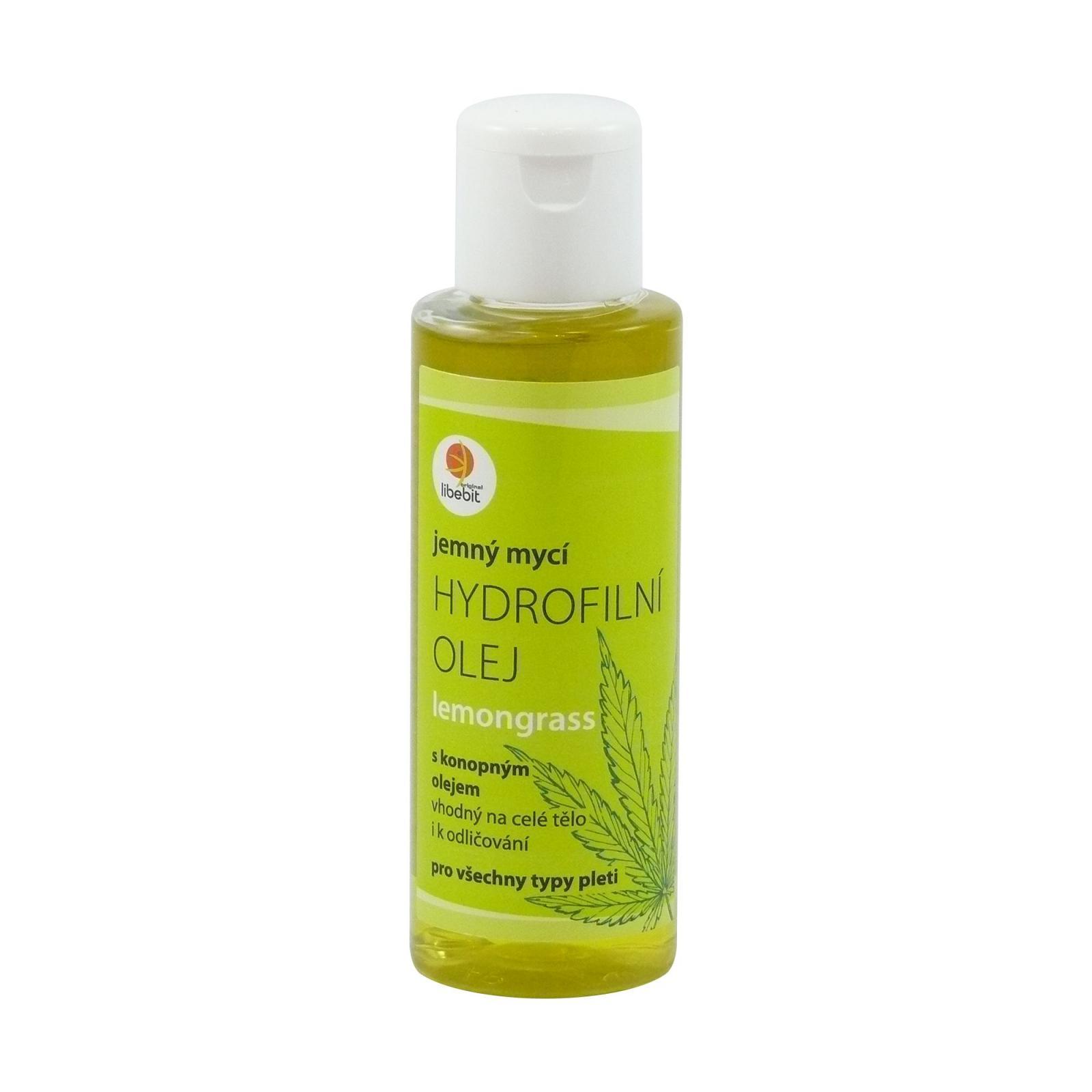 Libebit Hydrofilní mycí olej lemongrass 120 ml