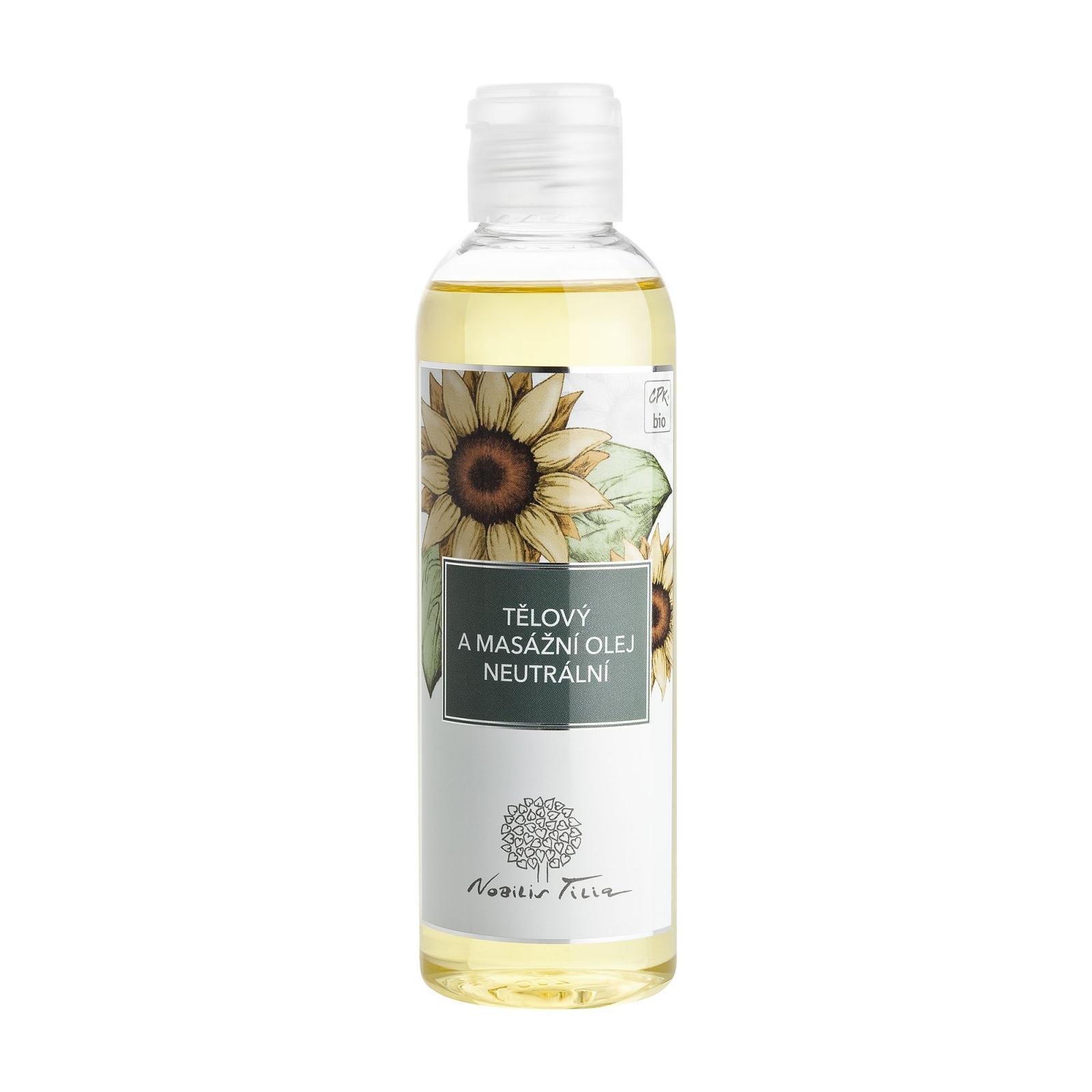 Nobilis Tilia Tělový a masážní olej Neutrální 200 ml