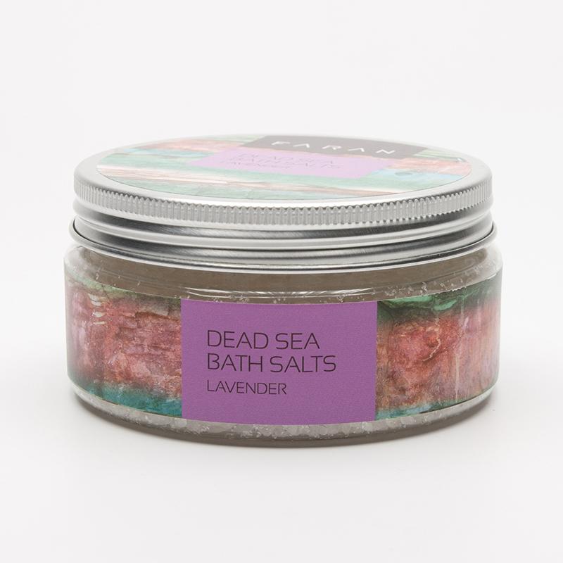 Faran Koupelová sůl Mrtvé moře Lavender 200 ml