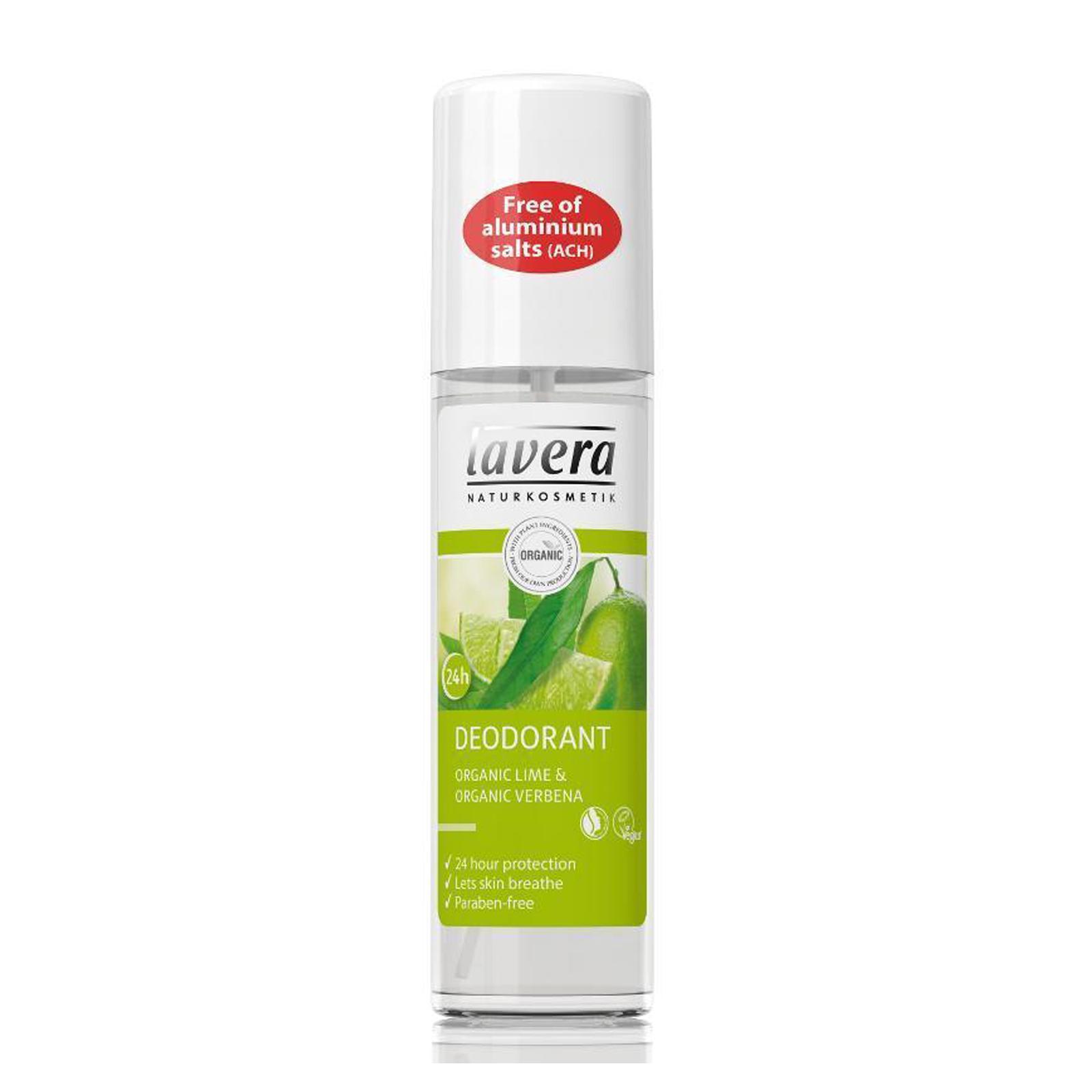 Lavera Deodorant sprej verbena a limetka, Body Spa 75 ml