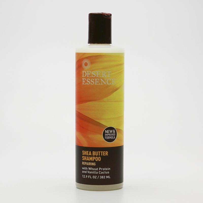 Desert Essence Šampon regenerační s keratinem a bambuckým máslem 382 ml