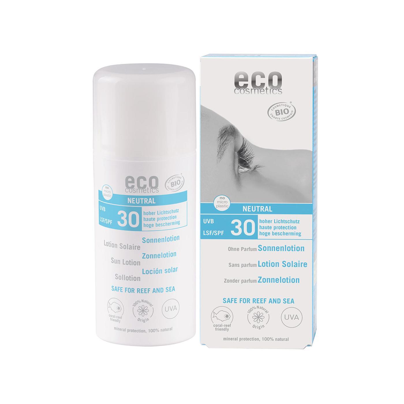 Eco Cosmetics Ochranné sluneční mléko SPF 30, Neutral 100 ml