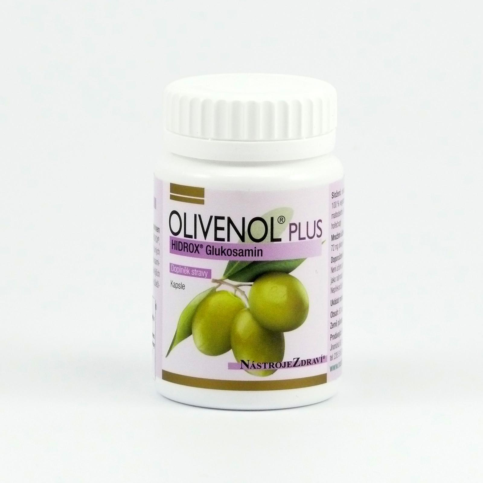 Nástroje Zdraví Olivenol Plus Hidrox Glukosamin 60 kapslí