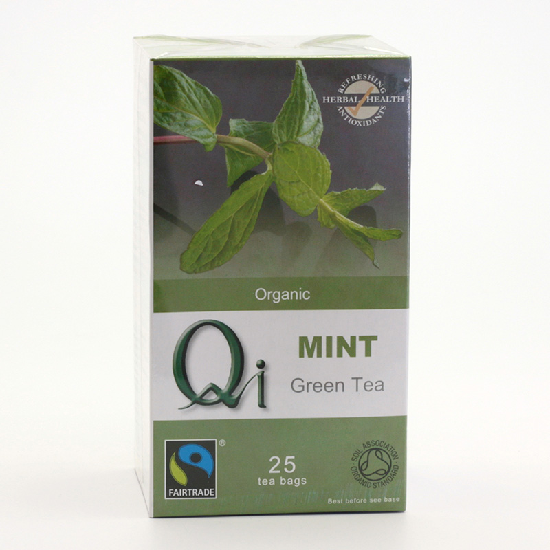 Herbal Health Výprodej Čaj Qi zelený, mátový