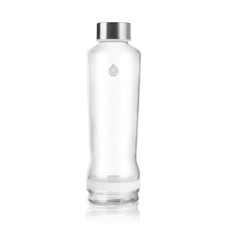 Equa Skleněná láhev Drop 570 ml, White