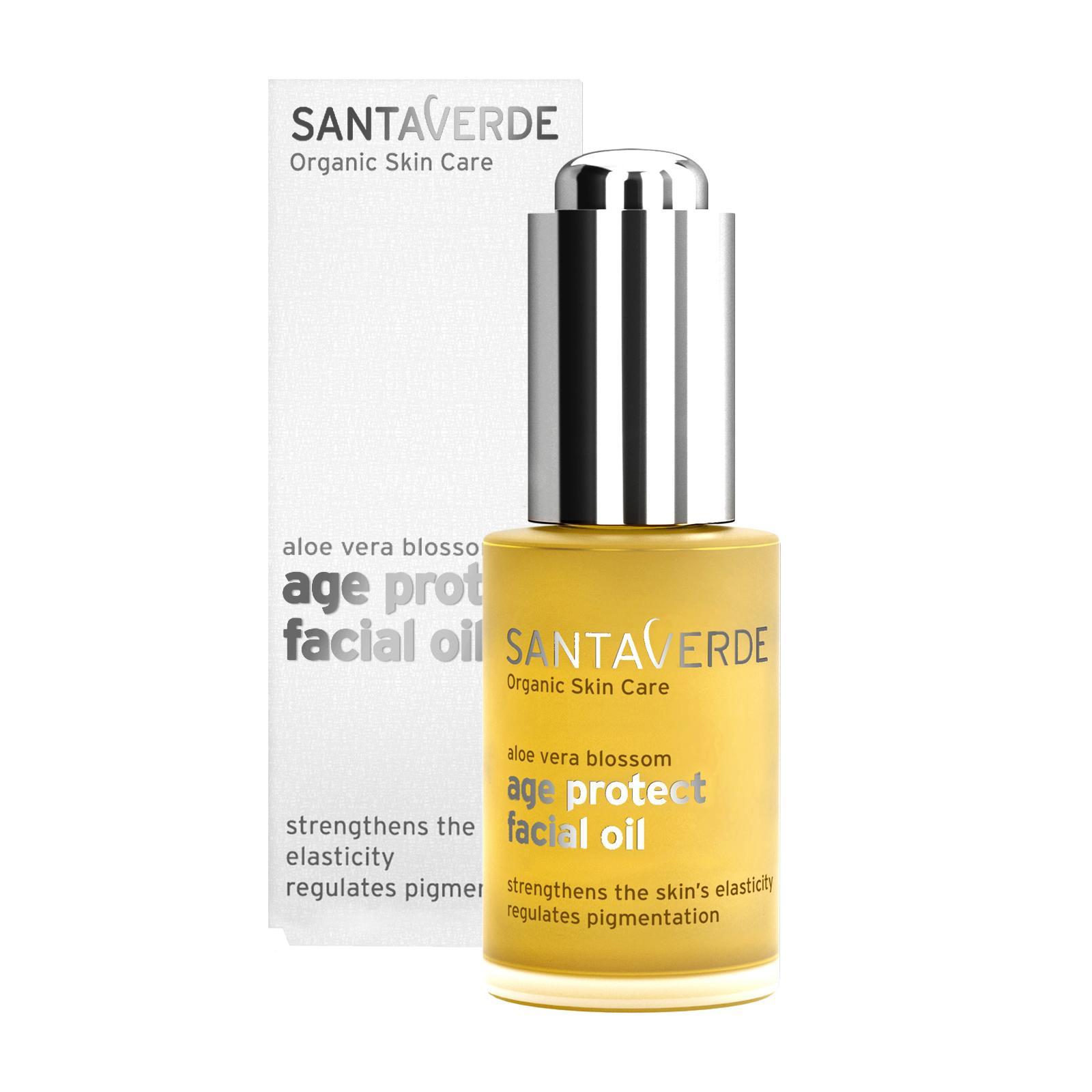 Santaverde Ochranný pleťový olej, age protect 30 ml