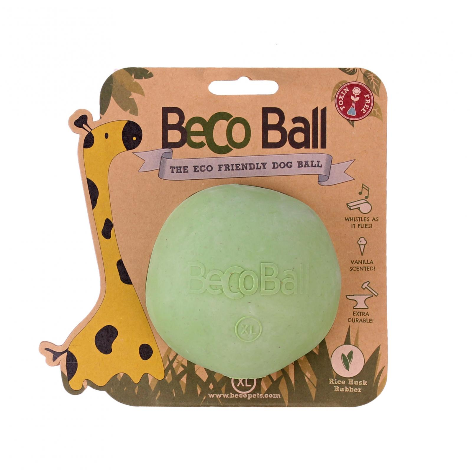 Beco Pets Beco Ball X-Large 1 ks, zelená