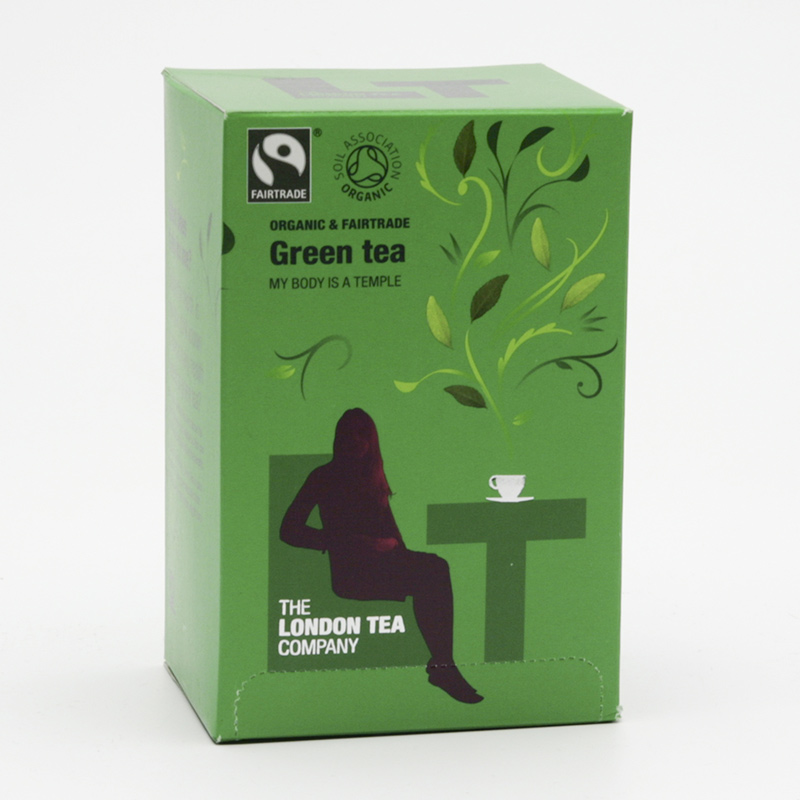 London Tea Výprodej Čaj zelený  20 ks, 40 g
