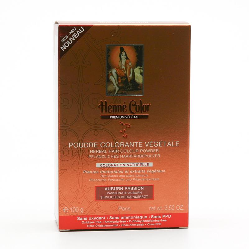 Henné Color Henna Bordó, Premium Végétal 100 g