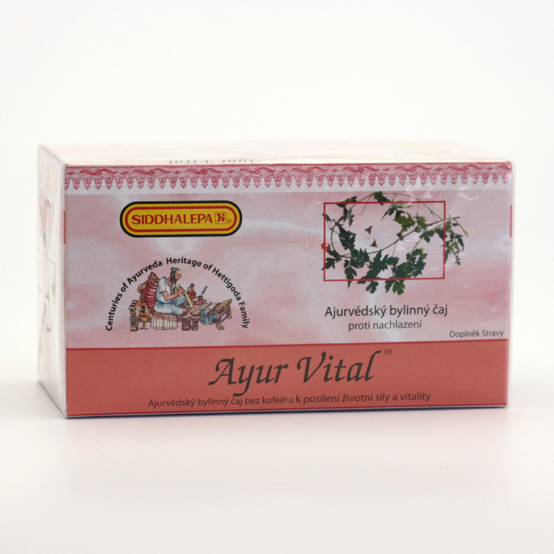 Siddhalepa Ayur Vital, čaj pro posílení vitality 40 g, 20 ks