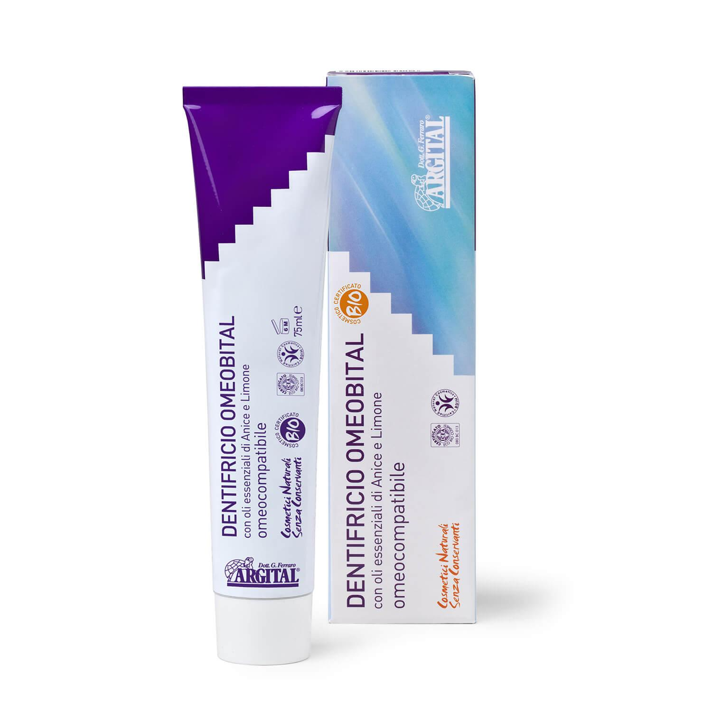 Argital Zubní pasta Omeobital pro homeopatika 75 ml