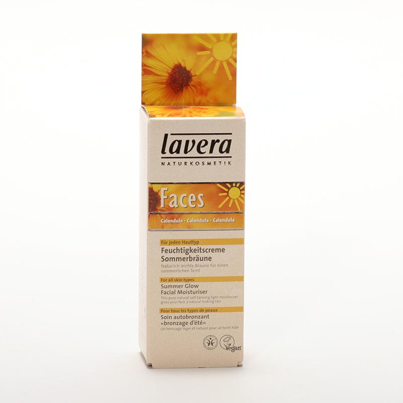 Lavera Krém hydratační samoopalovací, Faces 30 ml
