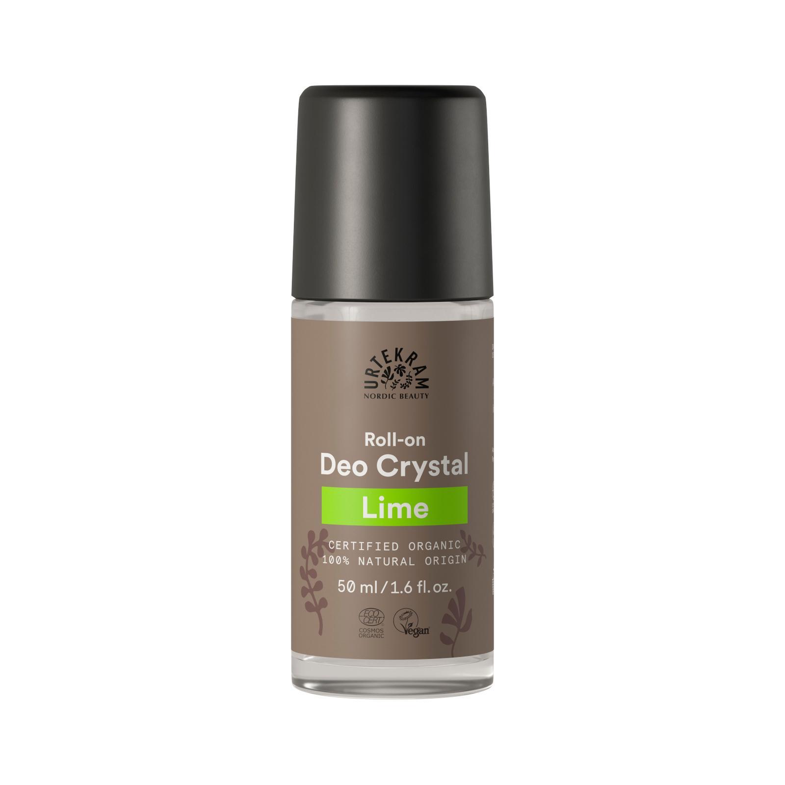 Urtekram Deo kulička crystal limetka 50 ml