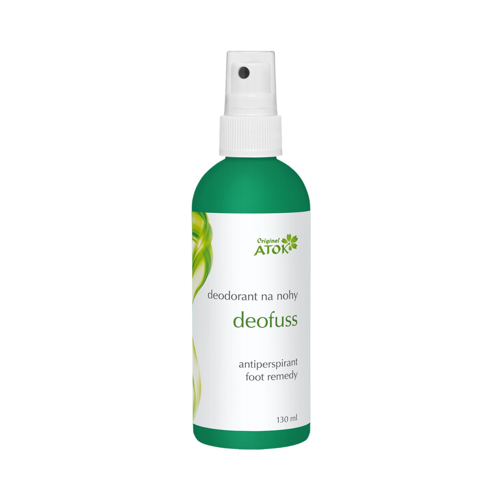 Original ATOK Deodorant na nohy Deofuss 130 ml